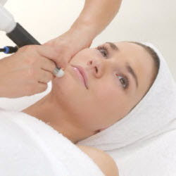 Microdermabrasion – smooth, refinish, rejuvenate and exfoliate the skin.